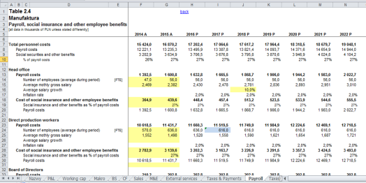 8. Payroll Print Screen